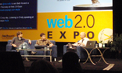 Digg's Gods: Kevin Rose and Jay Allison at Web 2.0 Forum keynote talk